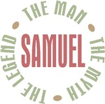 Samuel the Man the Myth the Legend T-shirts Gifts