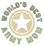 World's Best Army Mom Tees Gifts