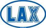 Lacrosse Lax Oval KYBlue
