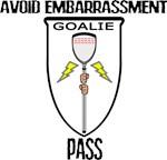 Lacrosse Goalie Pass