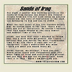Sands of Iraq Poem