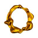 Blown Gold O