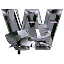 Heavy Metal initial letter W monogram