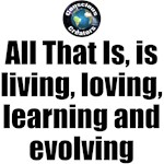 Learning and Evolving