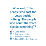 Count the Votes - Goodies