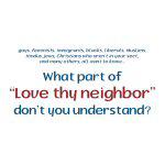 Love Thy Neighbor - Apparel