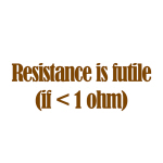 Resistance is Futile - Goodies