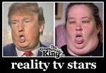 REALITY TV STARS - TRUMP