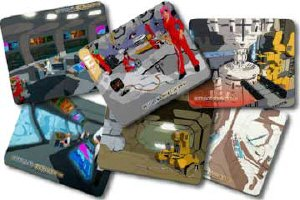 Starscape Mouse Pads