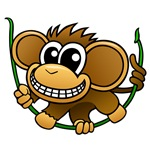 Cartoon Chimpanzee