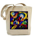 <b>Round Clocks & Canvas Tote Bags<b>