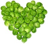 Brussel Sprouts Heart