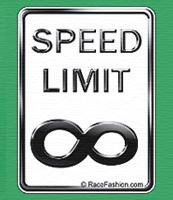 No Speed Limit Zone