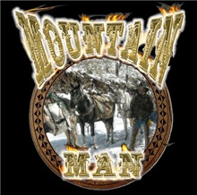 Mountain man gifts and t-shirts