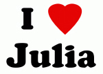 I Love Julia