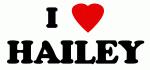 I Love HAILEY