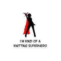 Knitting Superhero