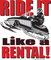 Ride it Like a Rental