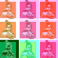 Warhol Artsy Snowmobiler 2