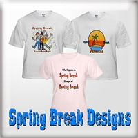 Spring Break T-Shirts & Gifts