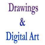 Drawings & Digital Art