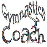 Gymnastics Coach Graphic Design