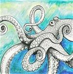 Wild Blue Octopus