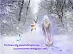 Christmas Winter Goddess