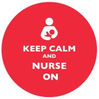 Keep Calm and Nurse On Red