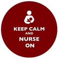 Keep Calm and Nurse On Brown