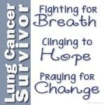 Breathe-Hope-Change Lung Cancer Survivor