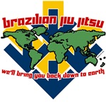 BJJ Tshirts - We'll bring you back down to Earth