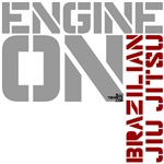 Engine On BJJ shirts, design 3