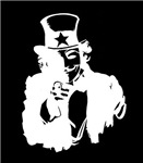 Anonymous Guy Fawkes as Uncle Sam Inverted