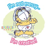 Messy Garfield Baby