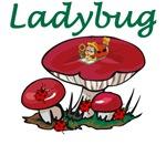 Ladybugs and Mushrooms
