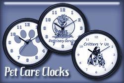 Pet Care Wall Clocks