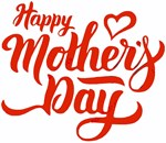 Happy Mother's Day with Heart