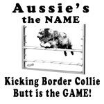 Aussies Kick Butt- Agility Humor