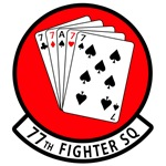 77th Fighter Squadron Patch