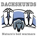 Dachshund bed warmers (black dachshund)
