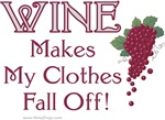 Wine Clothes Off