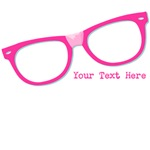 Pink Nerd Glasses Persnalized