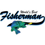 World's Best Fisherman Blue