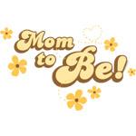 Retro Mom To Be Yellow