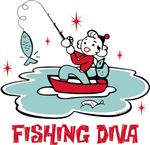 Retro Fishing Diva