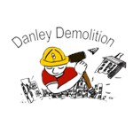 The Danley Demolition Logo Only on clothing