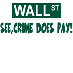 Anti Wall St shirt for anti bank folk