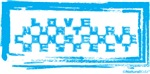Love Nurture Conserve Respect (blue)
