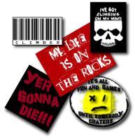 Rock Climbing Sticker Packs!